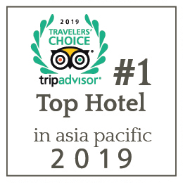 #1 Top hotel in asia 2019