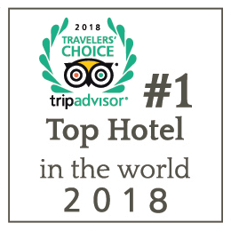 #1 Top hotel in the world 2018