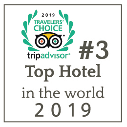 #3 Top hotel in the world 2019